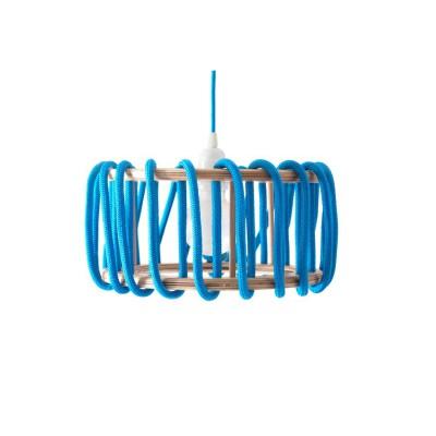 Blue macaron lamp