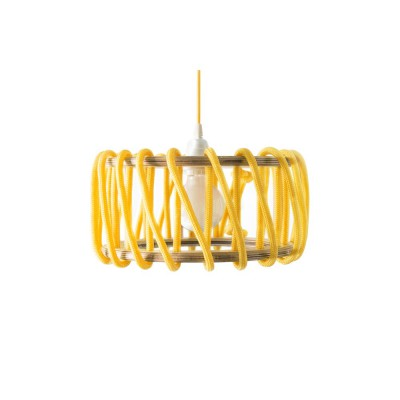 Suspension Cordelette jaune