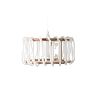 White macaron lamp