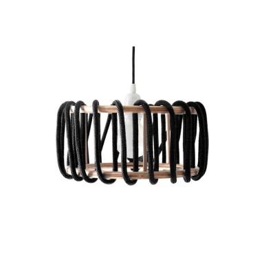 Black macaron lamp