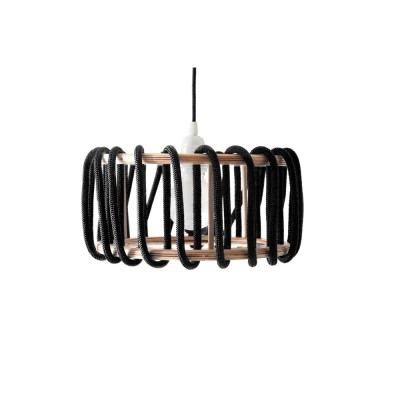 Suspension Cordelette noire