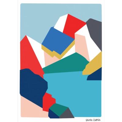 Illustration Montagne 1800 M