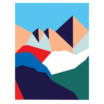 Affiche Montagne 11h45