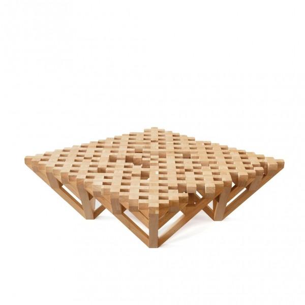 table basse racine claire arne concept. Black Bedroom Furniture Sets. Home Design Ideas