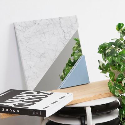 XS Carrara marble & Serenity mirror