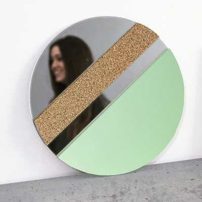 XO Mirror Mint & Cork