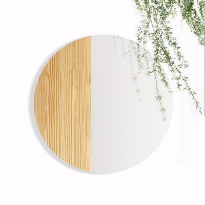 Mono Material Mirror Pinewood