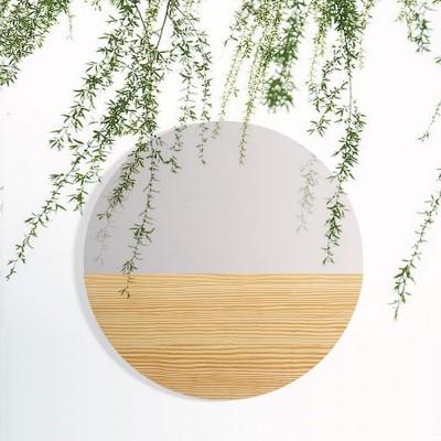 Mono Material Mirror Pinewood