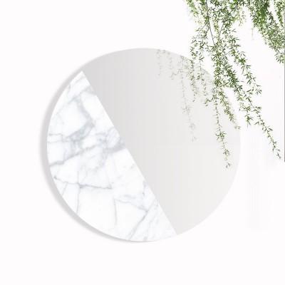 Mono Material Mirror marble