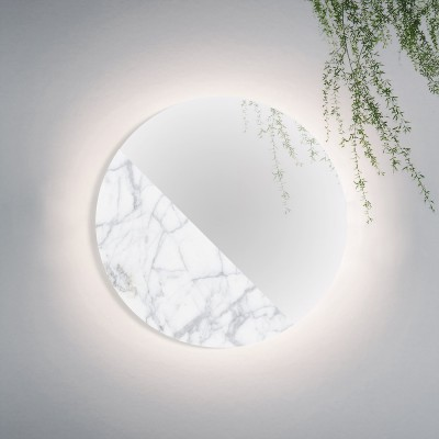 Mono Material Mirror marble