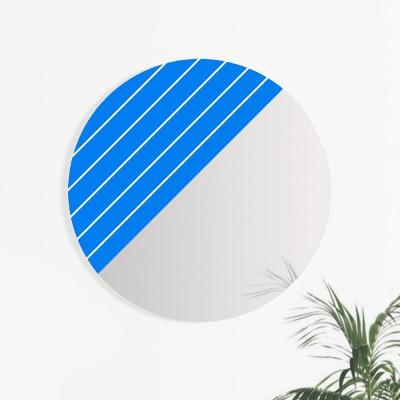 GRAPHIC Klein Blue & White Stripes