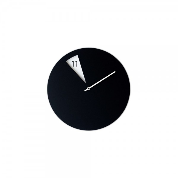 Horloge Italienne noire