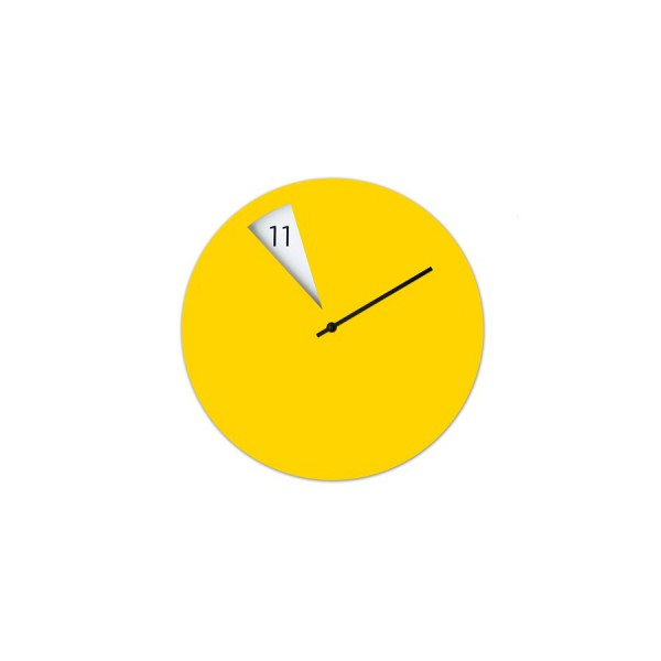 FreakishClock yellow