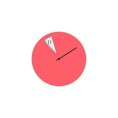 Horloge Italienne rose