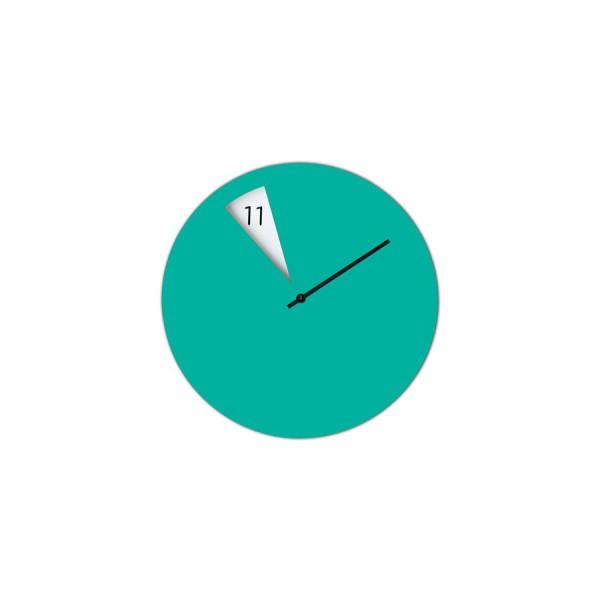 Horloge Italienne vert d'eau