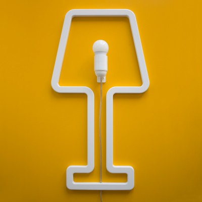 ColoredShape lamp white
