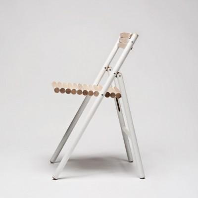 STEEL folding chair