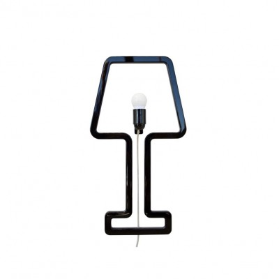 Lampe Minimaliste noire