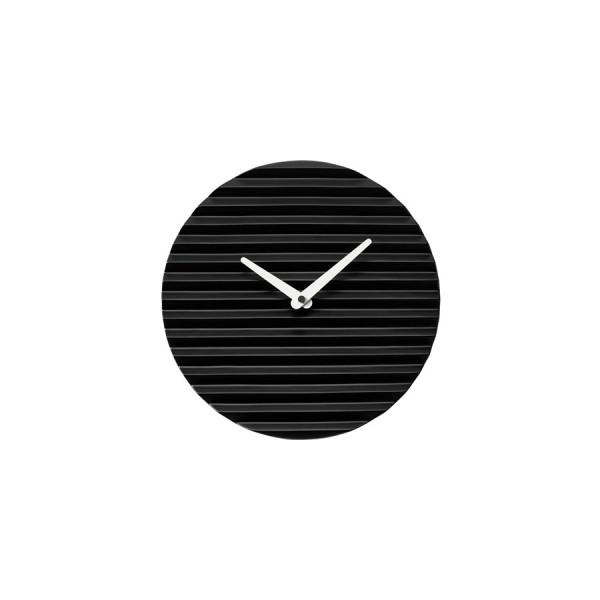 Horloge céramique noire