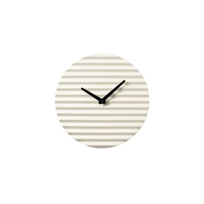 Horloge céramique blanche