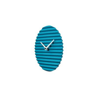 Horloge céramique bleue