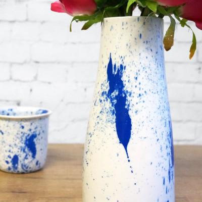 Vase splash