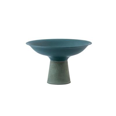 bowl dark blue