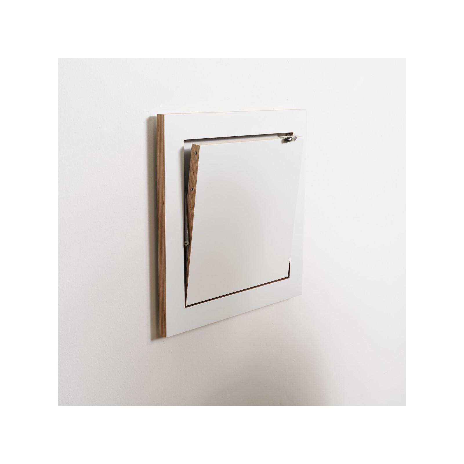 etag re carr e feuille blanche arne concept. Black Bedroom Furniture Sets. Home Design Ideas