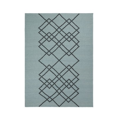 Rug Borg 02 green vintage and black