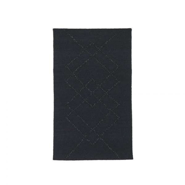 Petit Tapis Borg Noir Arne Concept