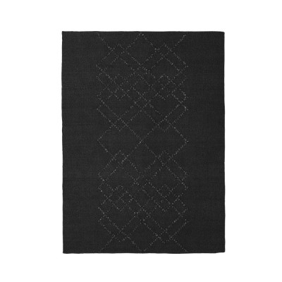 Rug Borg 02 white and black