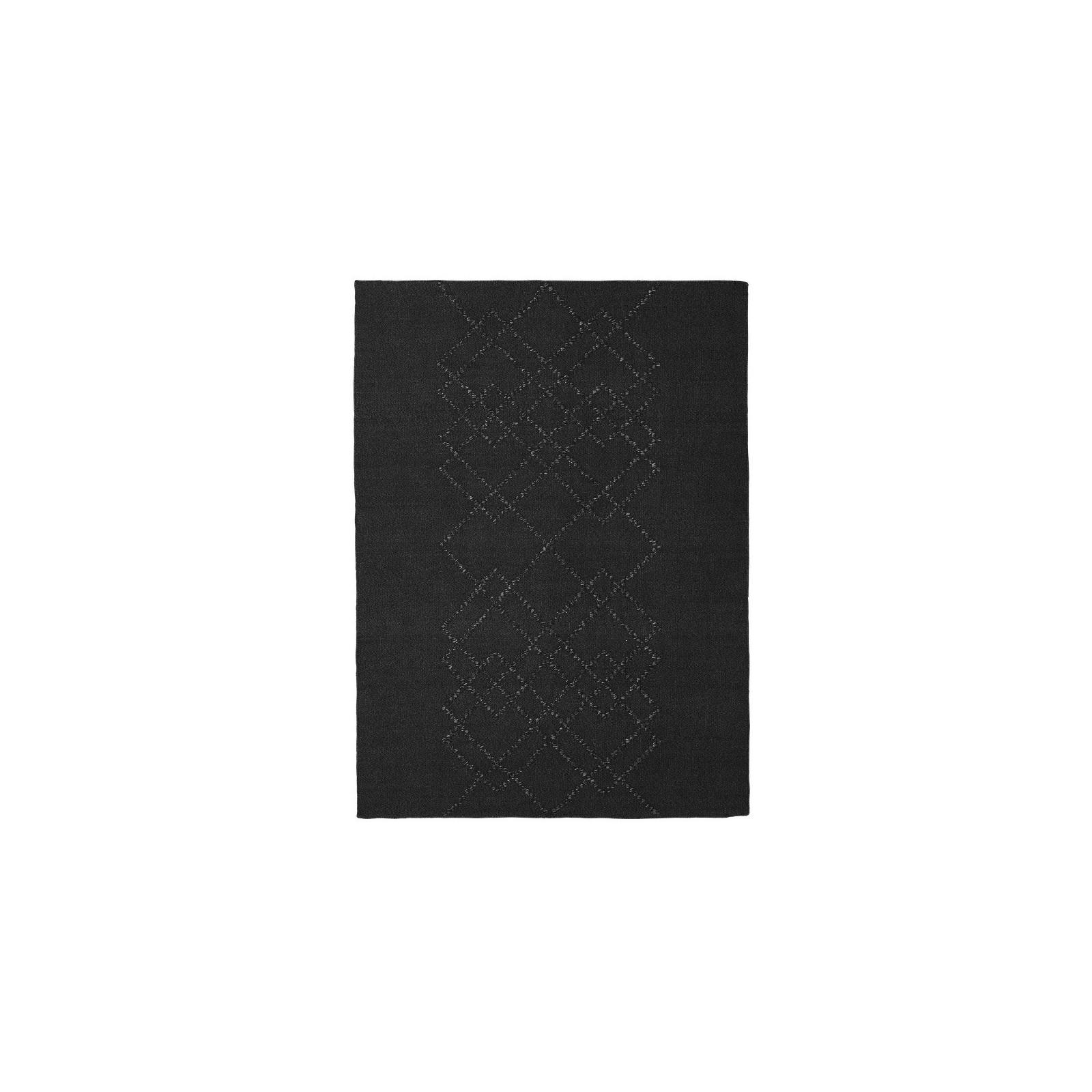 Tapis Borg Medium Noir Et Blanc Arne Concept
