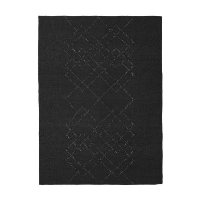 Rug Borg 03 black and black