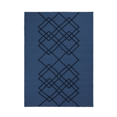 Rug Borg 03 dark blue