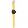 Montre Bracelet Design Jaune