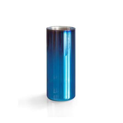 Vase haut verre et titane