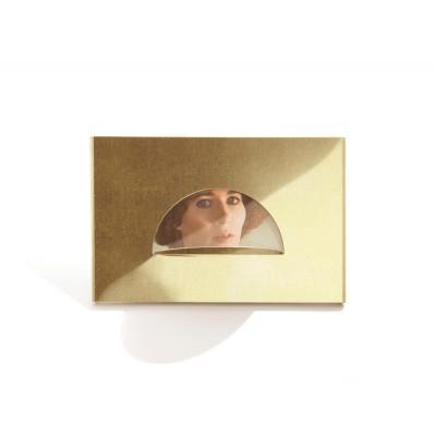 semi-moon photo frame