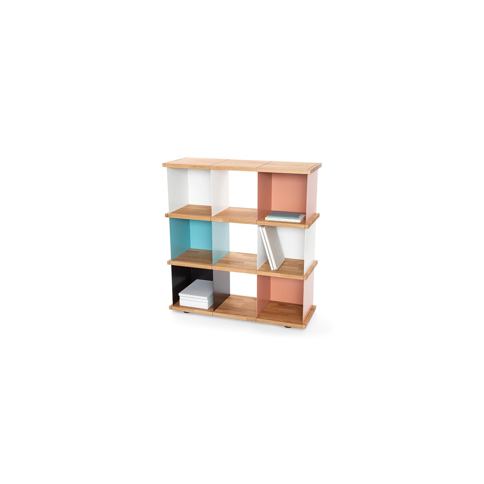 grande tag re cube ch ne massif arne concept. Black Bedroom Furniture Sets. Home Design Ideas
