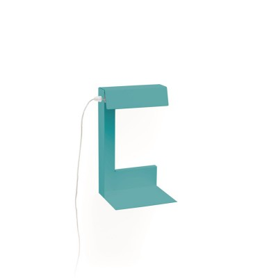 TURQUOISE READING LAMP