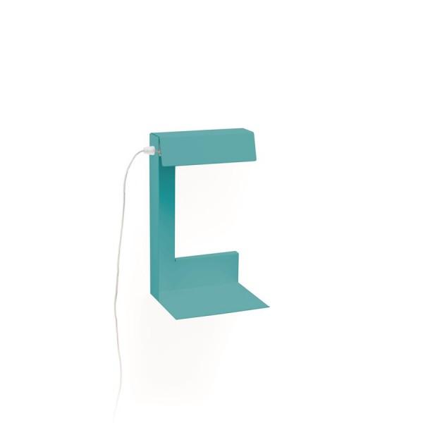 Lampe à lire turquoise