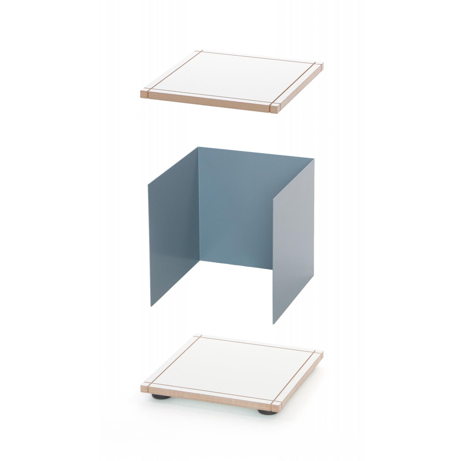 Meuble Tv Design Ch Ne Gris Arne Concept # Meuble Bas Tv Design