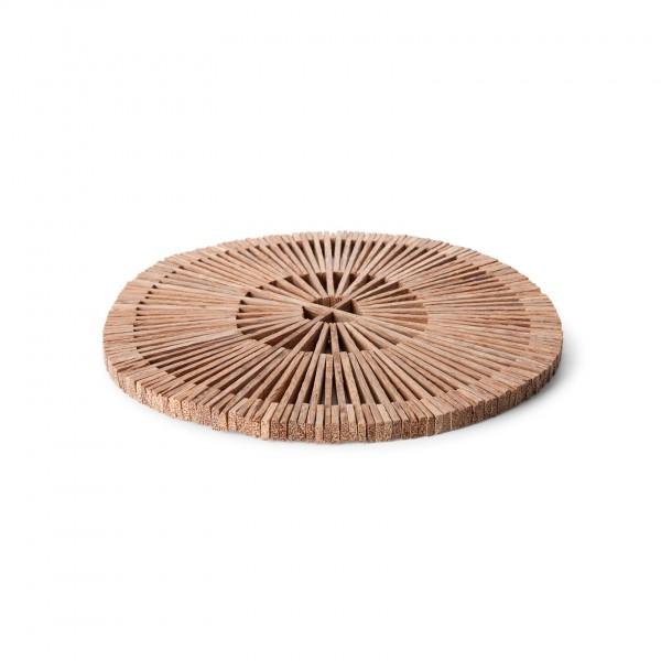 Dessous de plat en bois de palmier