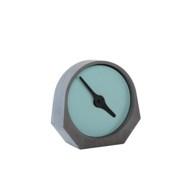 Theda clock turquoise