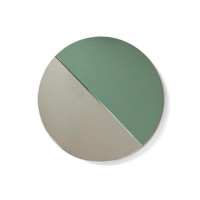 Miroir Lune vert