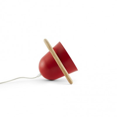 Lampe nomade rouge