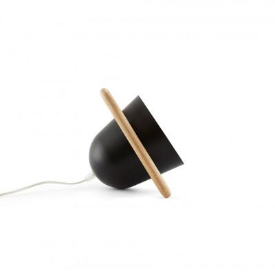 Lampe nomade noire