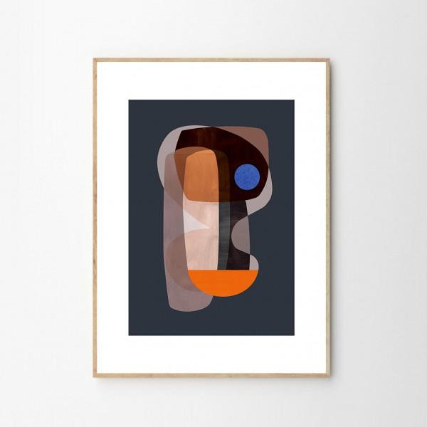 Illustration Cubisme Abstrait