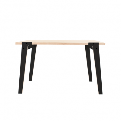 Petite table moderniste