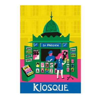 """Affiche """" Le Kiosque"""""""