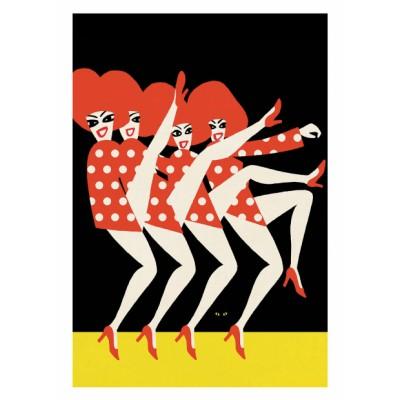 """""""Folies Bergeres"""" Print"""